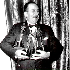 Walt Disney at Oscars