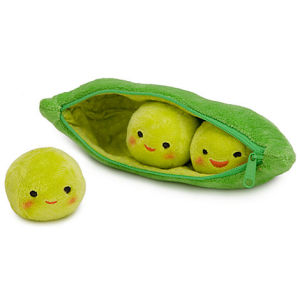 3 peas-in-a-pod plush disney store