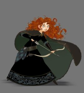 Merida Brave Visual Development Art