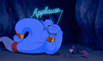 Genie Applause Aladdin