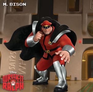M.Bison Wreck-It Awards