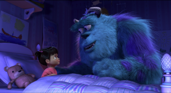 Sulley and Boo Monsters, Inc. 