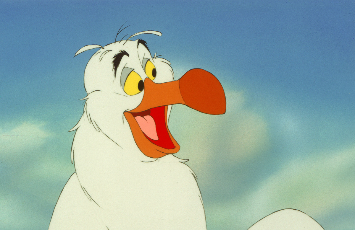 Scuttle from The Little Mermaid