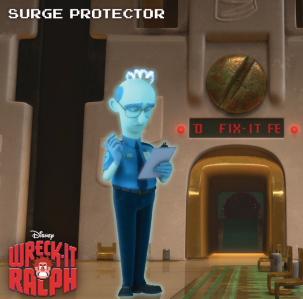 Surge Protector Wreck-it Ralph