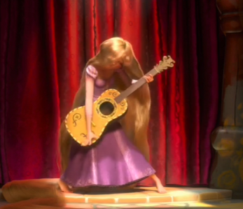 Tangled Rapunzel Guitar