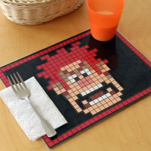 Wreck It Ralph Pixel Placemat