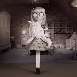 Weird Girl and Mr. Whiskers 3D Papercraft