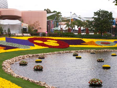 Epcot International Flower Garden Festival 2001