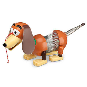slinky dog talking figure disney store