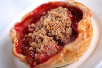 Strawberry Rhubarb Pie from Flo's V-8 Cafe at Disney California Adventure