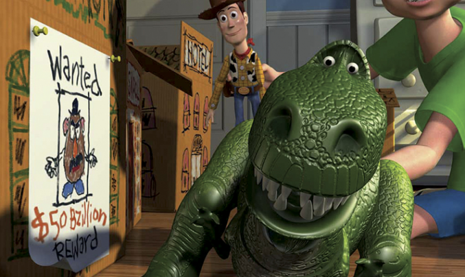 Toy Story Lessons Rex